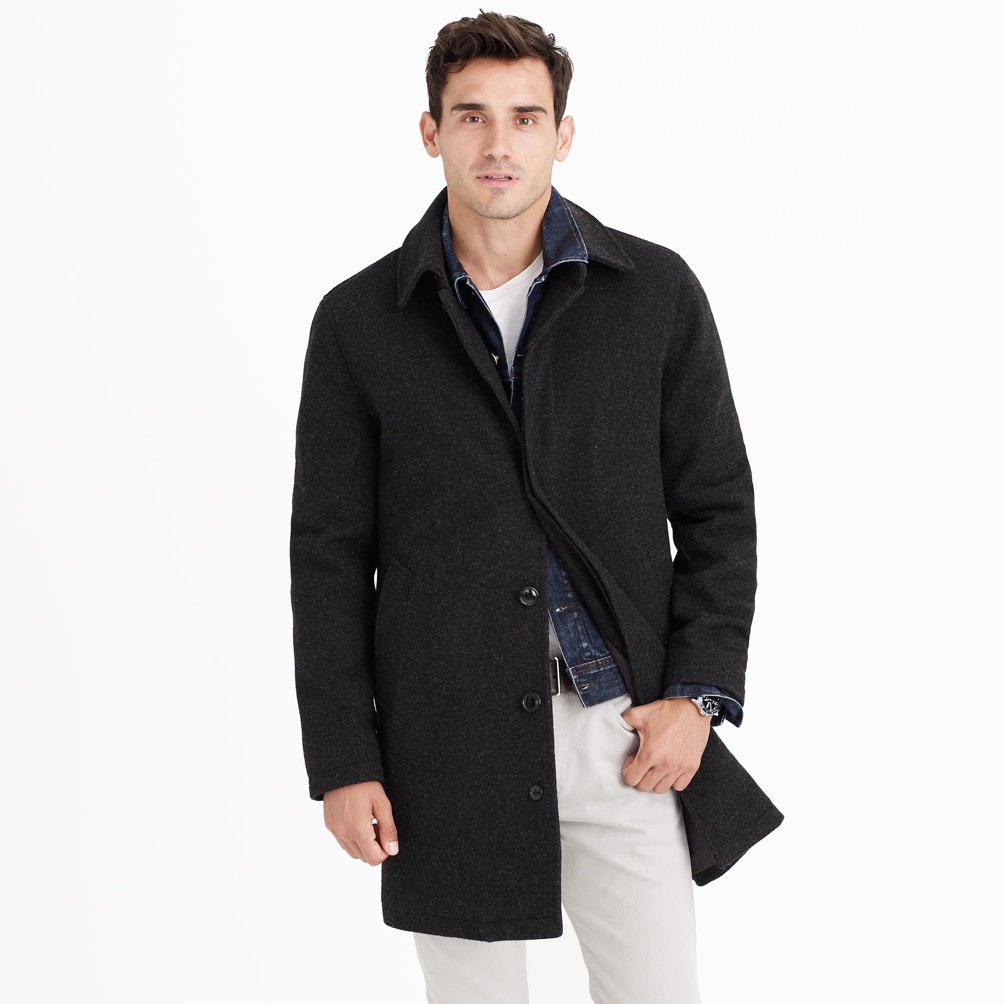 J. Crew wool car coat | Apparel | Pinterest
