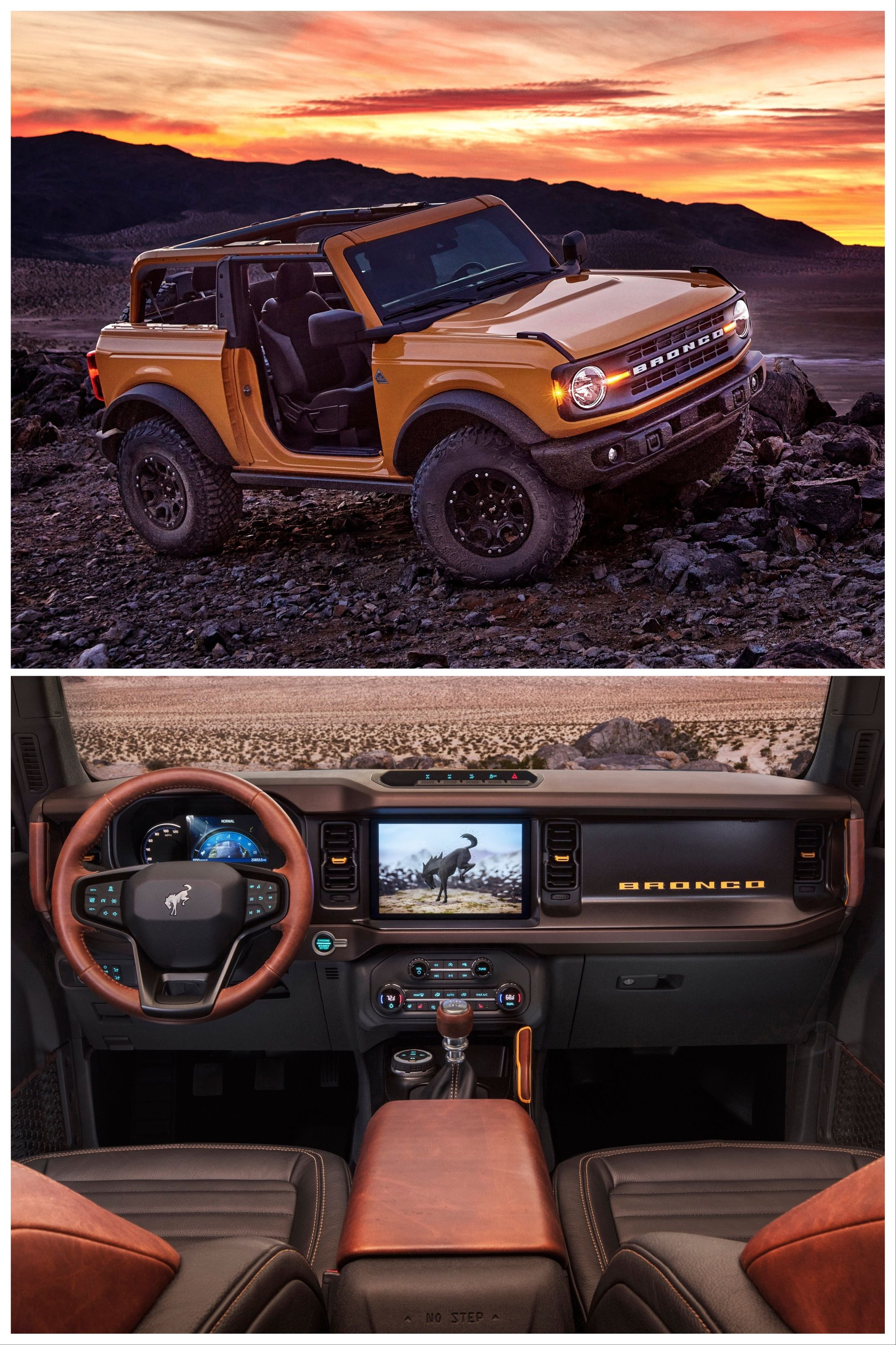 2021 Ford Bronco Sasquatch Package In 2020 Ford Bronco Bronco Truck Ford Suv