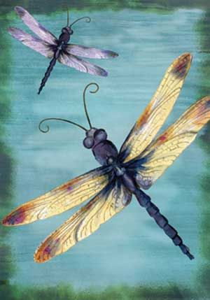 Dragonflies...love this one!