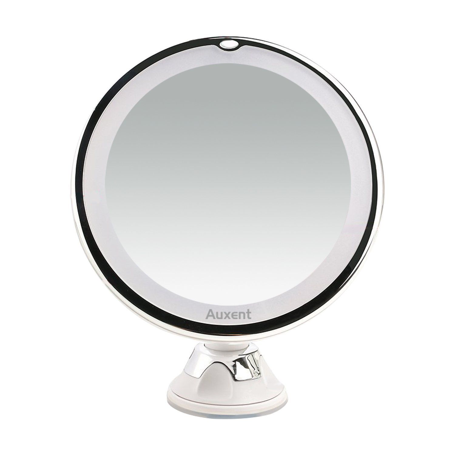 Auxent 10X Magnifying LED Lighted Makeup Mirror Vanity Cosmetic ...