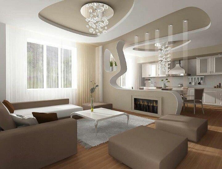 Wohnzimmer Decken Design Perfect Spanndecken Im Wohnzimmer With