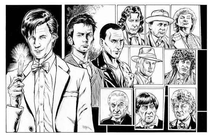 Coloring Pages From Doctor Who - Bing Images   Adult Coloring Pages ...