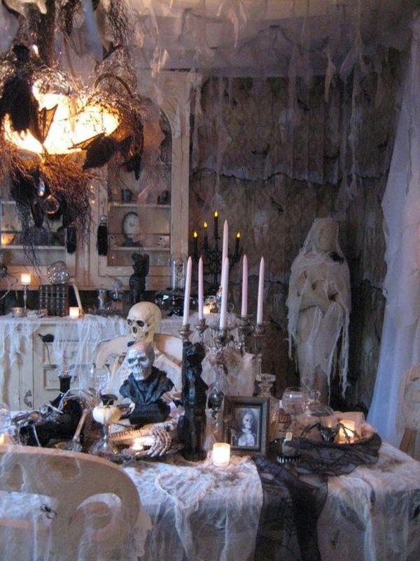 25 indoor halloween decorations ideas - Indoor Halloween Decorations