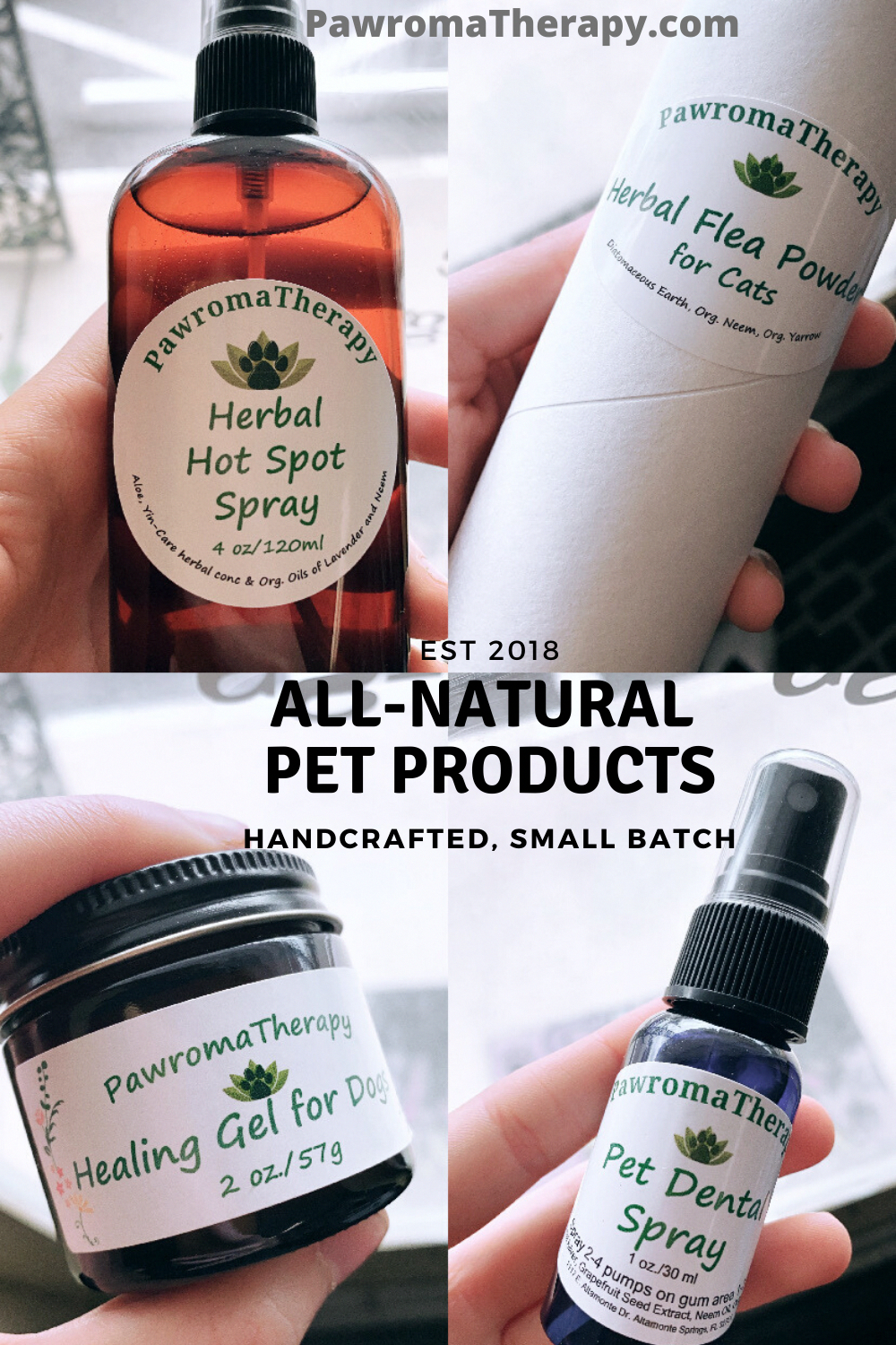 All Natural Dog, Cat Products, Handcrafted in 2020
