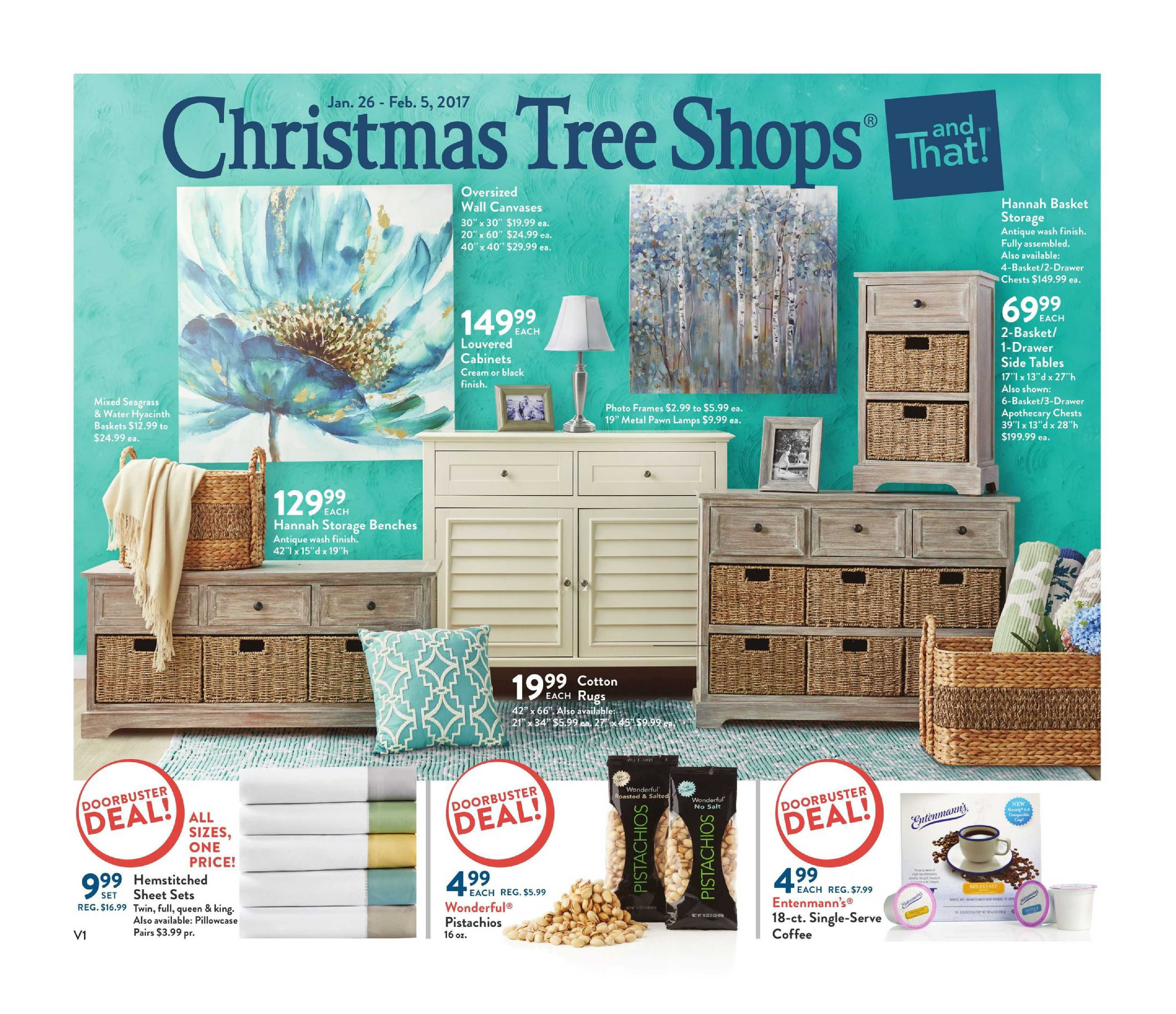christmas tree shop weekly flyer