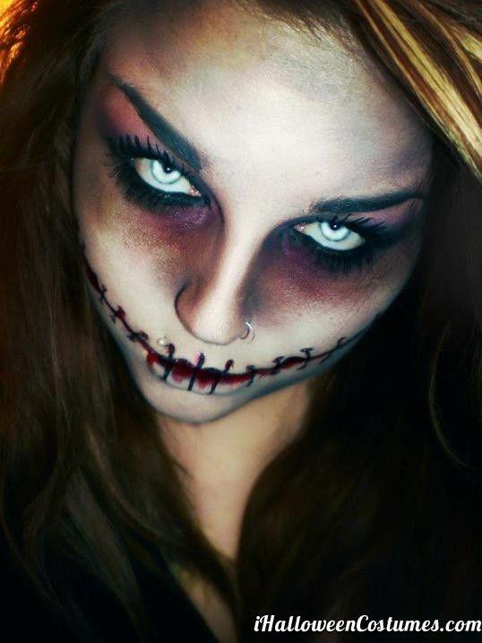 skull makeup for Halloween - Halloween Costumes 2013