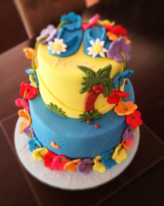 Hawaiian cake hawaiian cake frozen birthday party