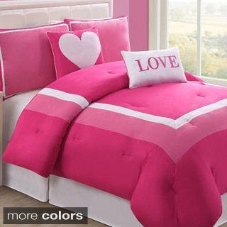 Vcny Chelsea 5 Piece Reversible Comforter Set Overstockcom