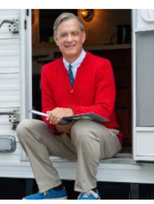 Tom Hanks Is Absolutely Perfect As Mister Rogers In New Movie Trailer Tom Hanks Fred Rogers Celebrity Photos