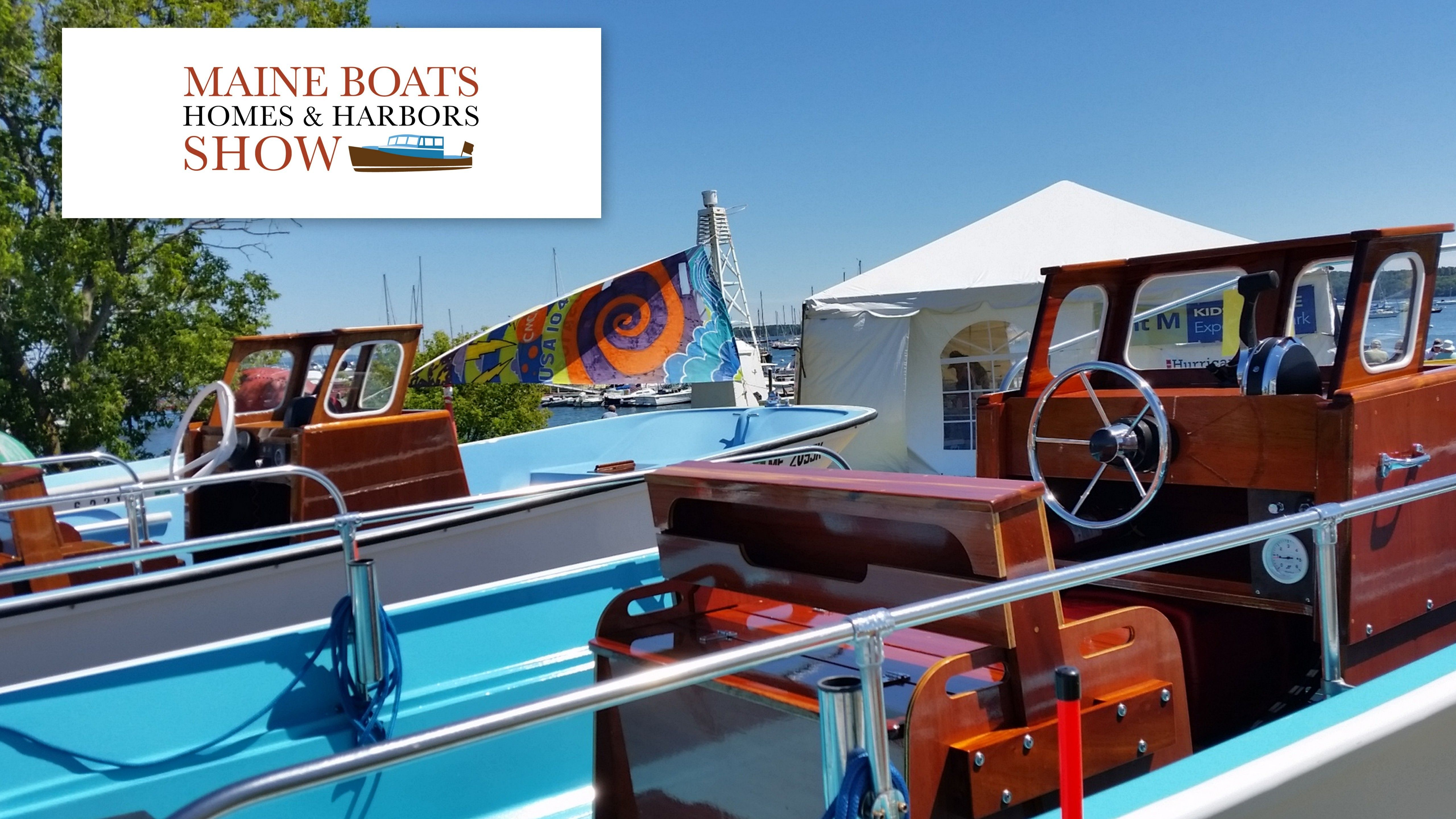 Vintage Boston Whalers At The Maine Boats Homes Harbors Show Boston Whaler Boats Boston Whaler Boat