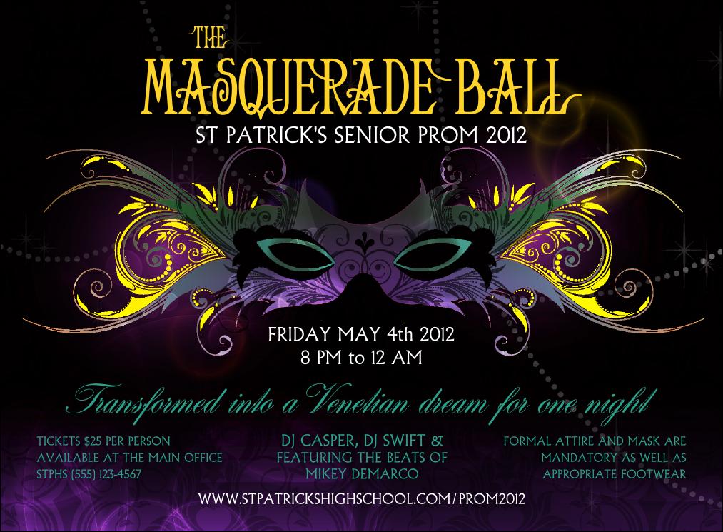 masquerade ball invitation in 2019