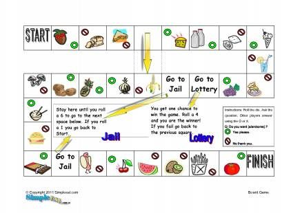 Count and no count nouns board game English Vocabulary