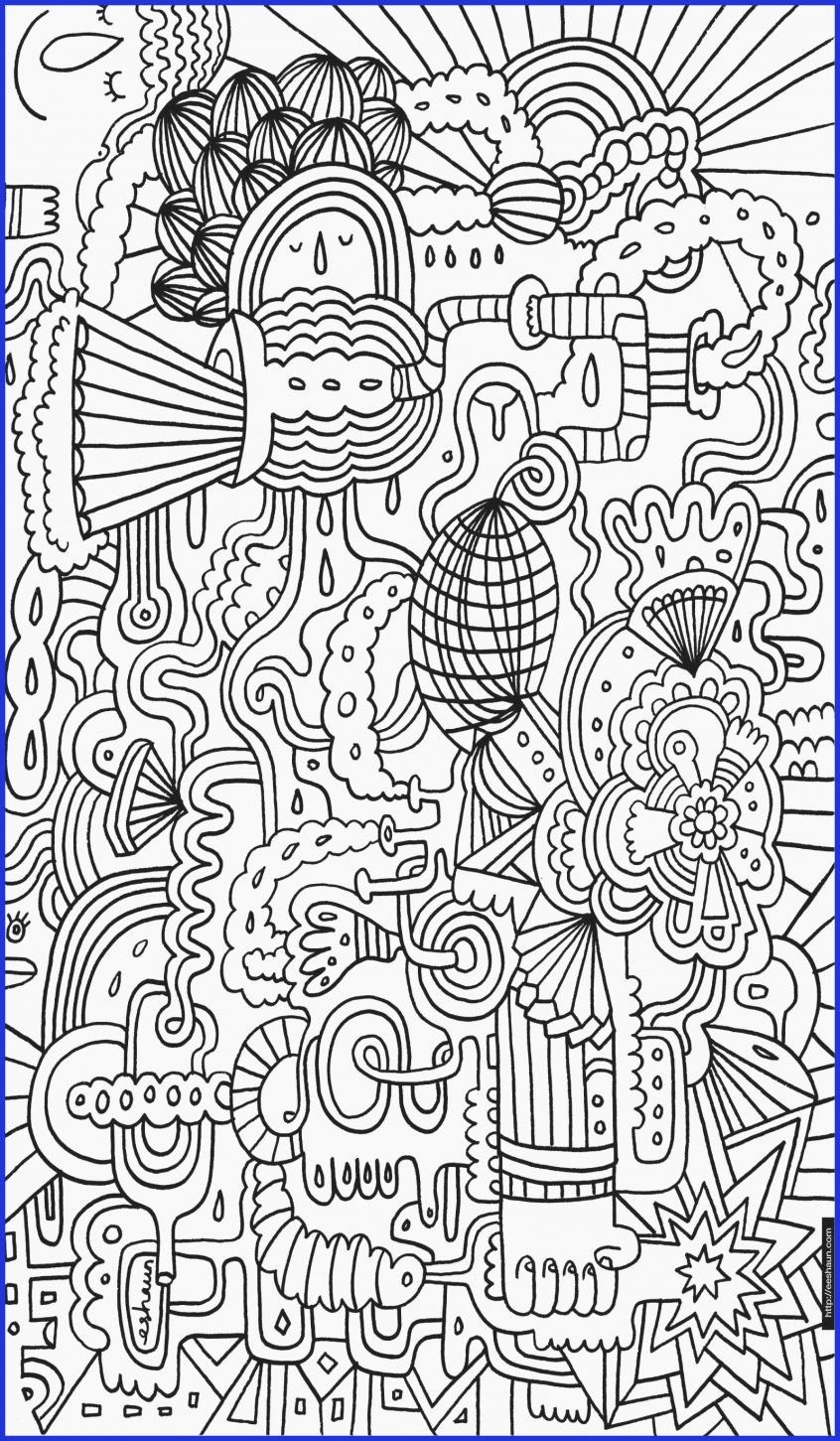 Color By Numbers Coloring Books Inspirational Coloring Difficult Color By Number Printables Cute Girl Doodle Sketsa Stiker
