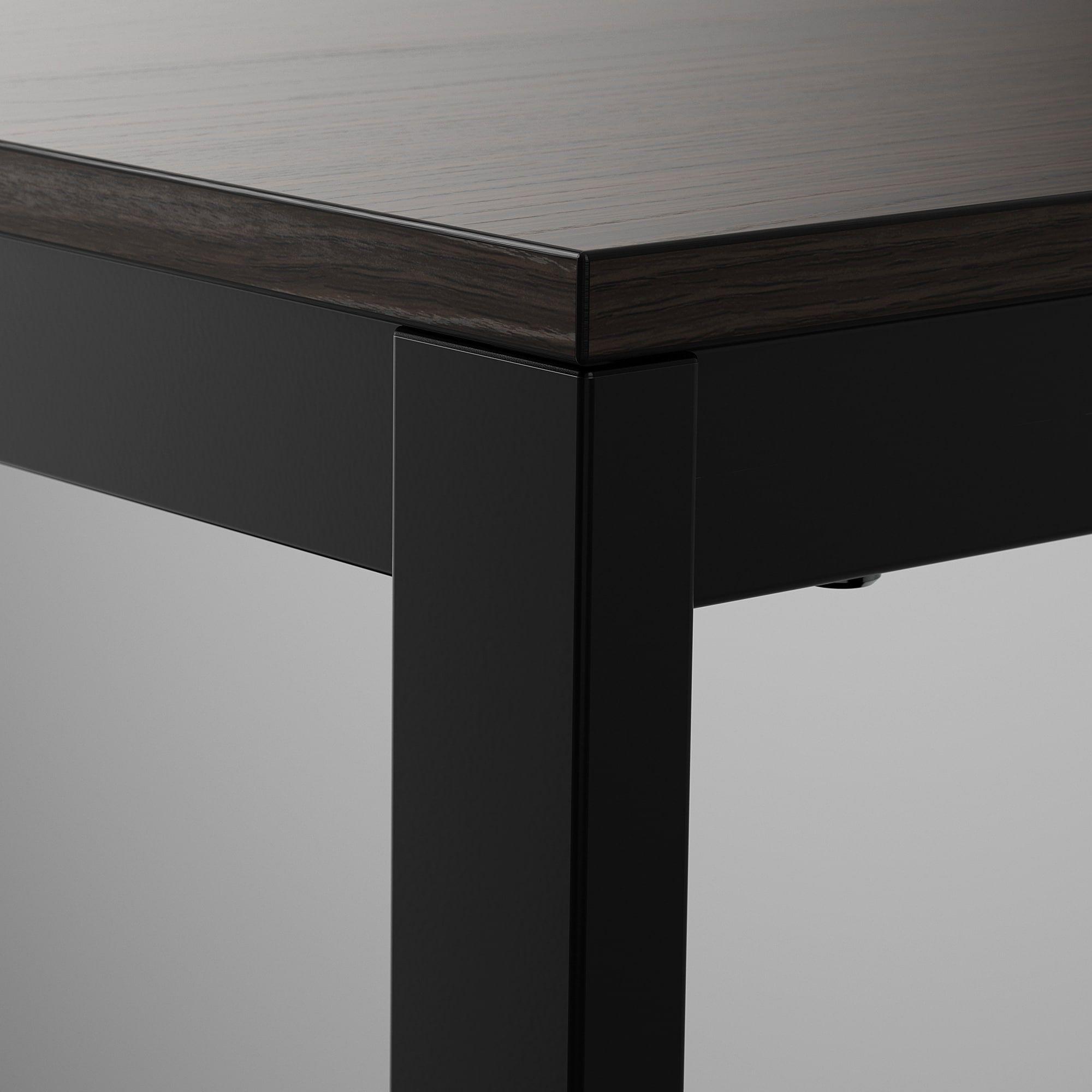 Https Www Ikea Com No No P Vangsta Uttrekkbart Bord Svart Mork Brun 10420152 Ikea En 2020 Table A Rallonge Table Extensible Table A Manger Extensible