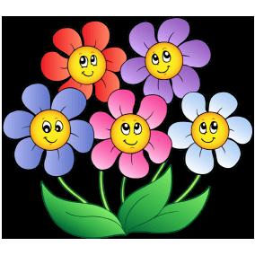 Flor Sonriente Flores Para Dibujar Flores Flores De Dibujos