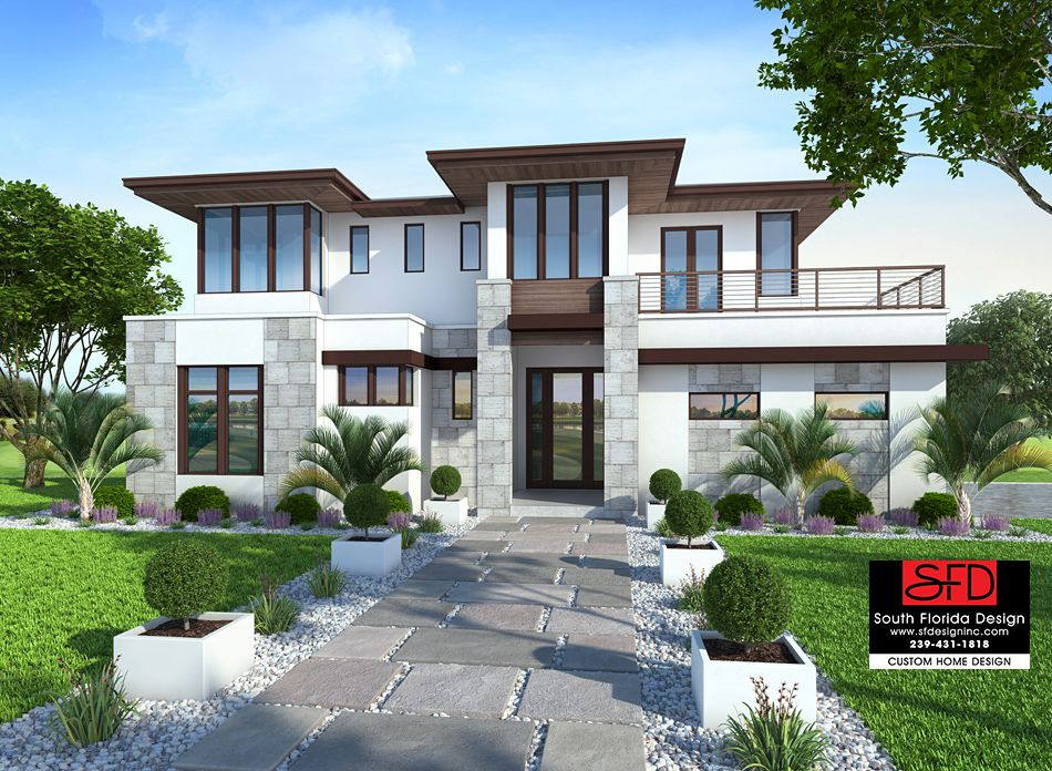 Mirasol Contemporary 2 Story House Plan Features 4