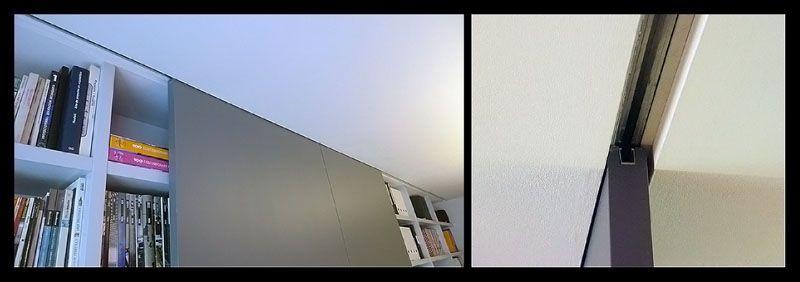 puertas correderas empotradas en techo - Guia Puerta Corredera