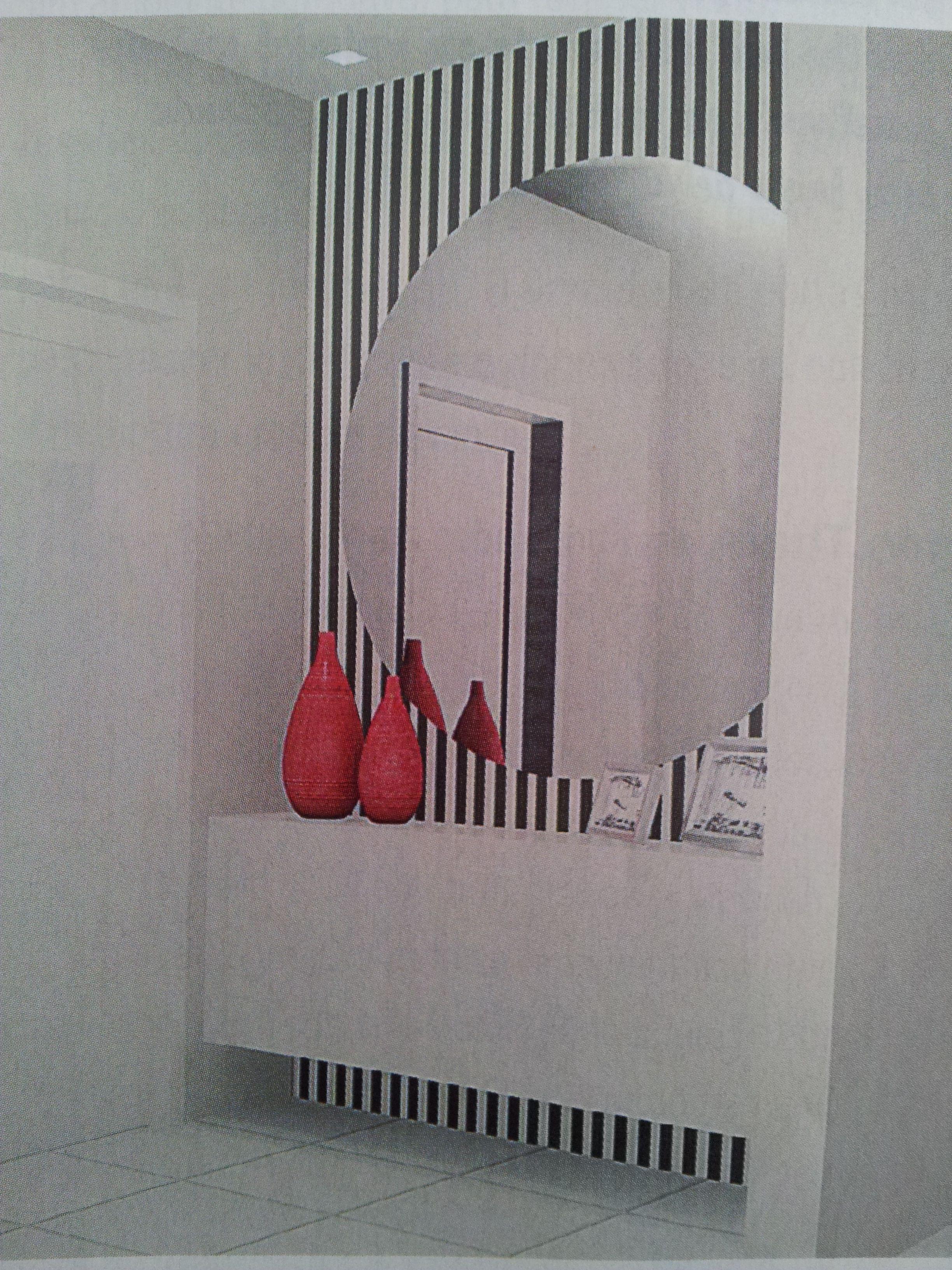 No hall de entrada a propriet ria gostaria de algo - Papel pared entrada ...