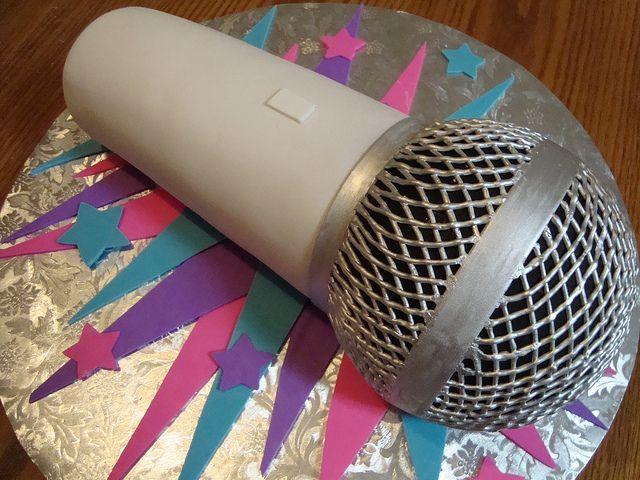 Best 25 Microphone Cake Ideas On Pinterest Microphone