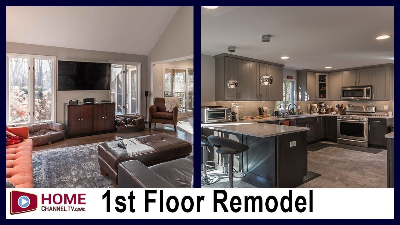 Kitchen Remodel First Floor Makeover Before After Design Kitchen Kitchenremodel Kitchendesign Floor Makeover Kitchen Remodel Cottage Style Kitchen