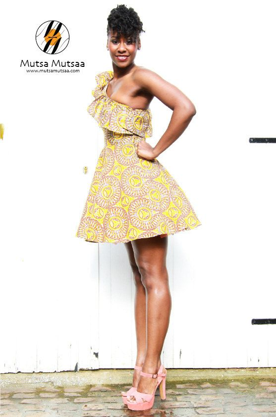 Copperset Party Dress by MutsaMutsaa on Etsy, £60.00