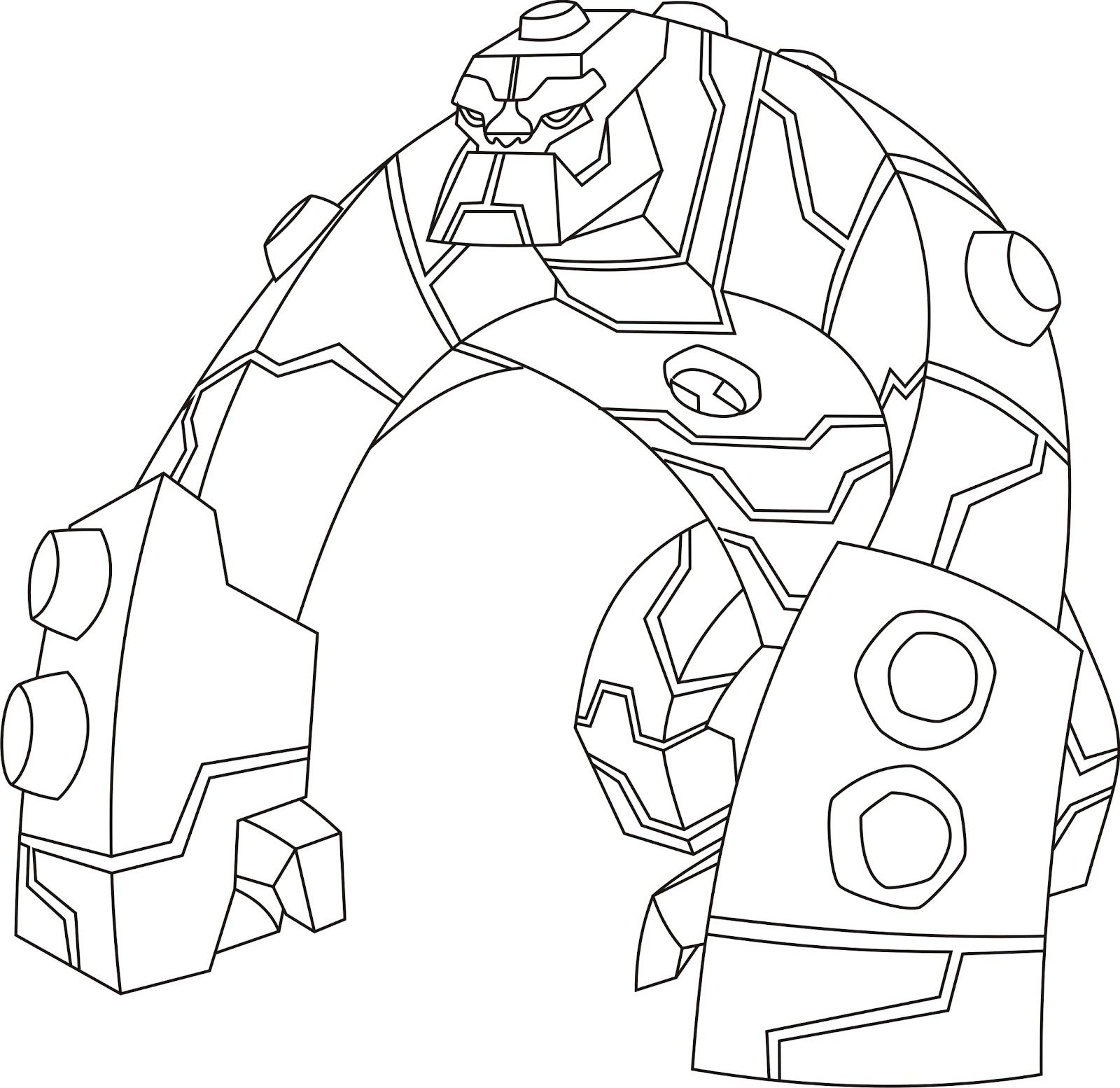Ben-10-Coloring-Pages24.jpg (1600×1554) | Ben 10 | Pinterest