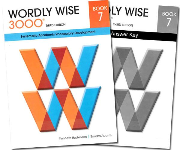 Wordly Wise 3000 Book 7 Answer Key 4th Edition