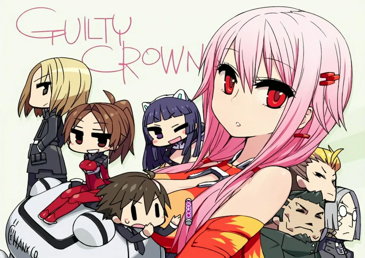Guilty Crown chibi Inori yuzuriha, Anime, Chibi