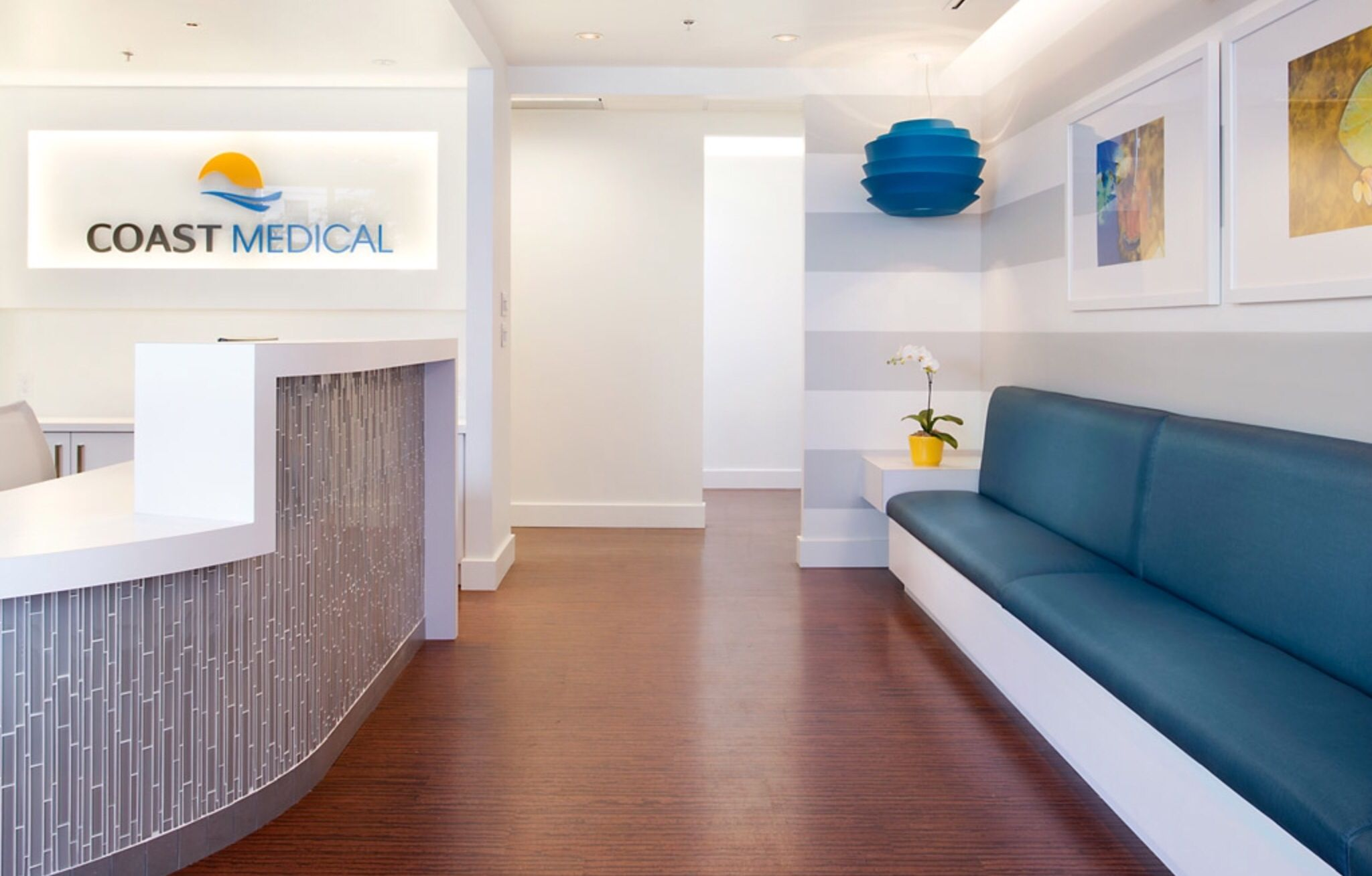 Bright and beautiful office of Coastal Medical Vancouver