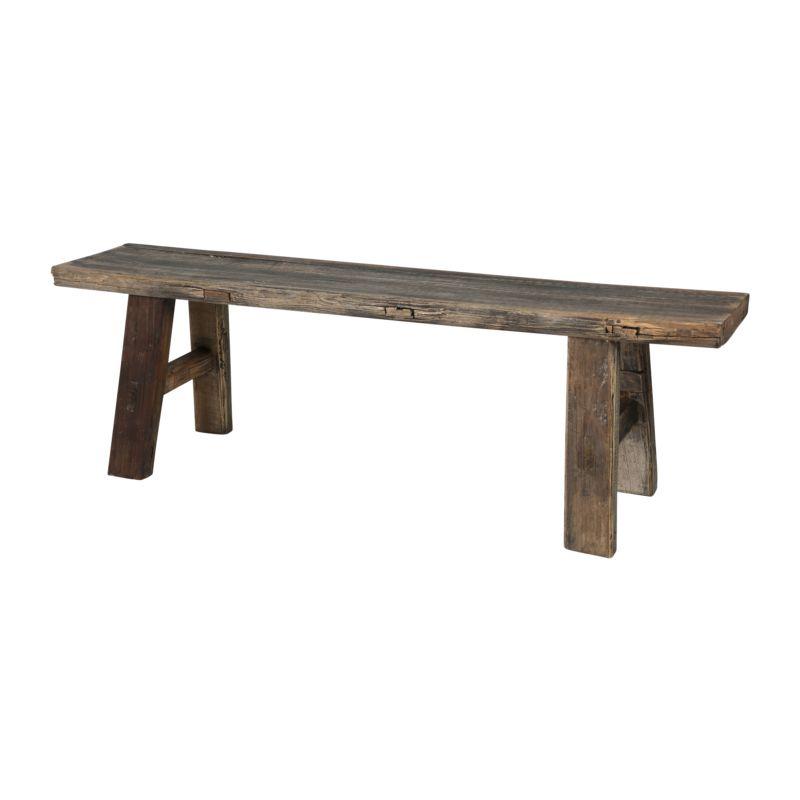 Oud houten bankje de bongerd inrichting huis pinterest bankjes houten bankjes en oud hout - Verlenging hout oud huis ...