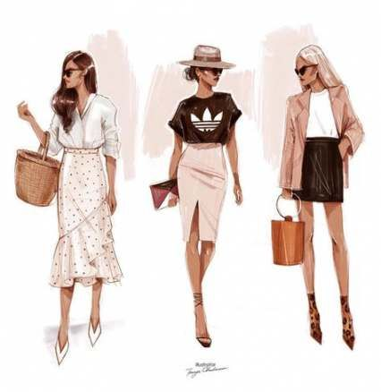 Photo of 50+ Ideas For Fashion Ilustration Sketchbook Artists