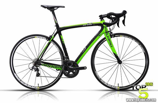 TOP 5 BICICLETAS DE CARRETERA: Megamo R15 ULTEGRA 11S, buena bici y a buen precio...