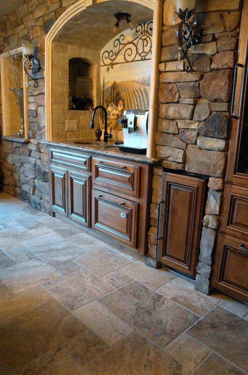 Tuscan bar, Tuscany style home is my dream home!   Tuscan decorating ...