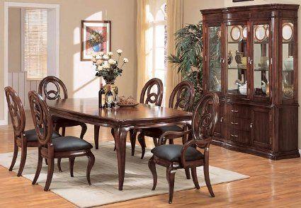 Decoraci n de un comedor al estilo cl sico casa dise o for Decoracion de interiores de casas estilo clasico