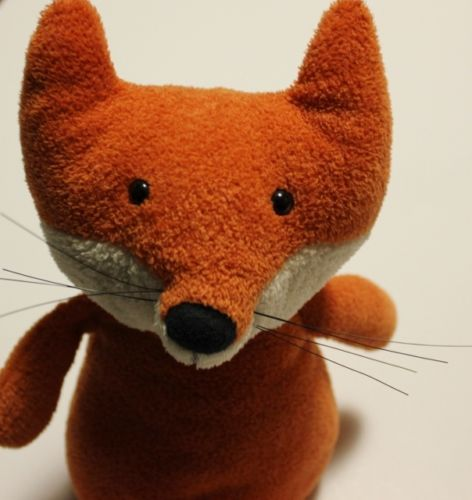 "$35 (10) JELLYCAT-London-Woodland-Babe-FOX-Plush-Orange-Brown-Plush-12 Here is Fox,  a Woodland Character from Jellycat of London.   This cute plush is approximately 12"" tall and has the long bushy chenille tail."