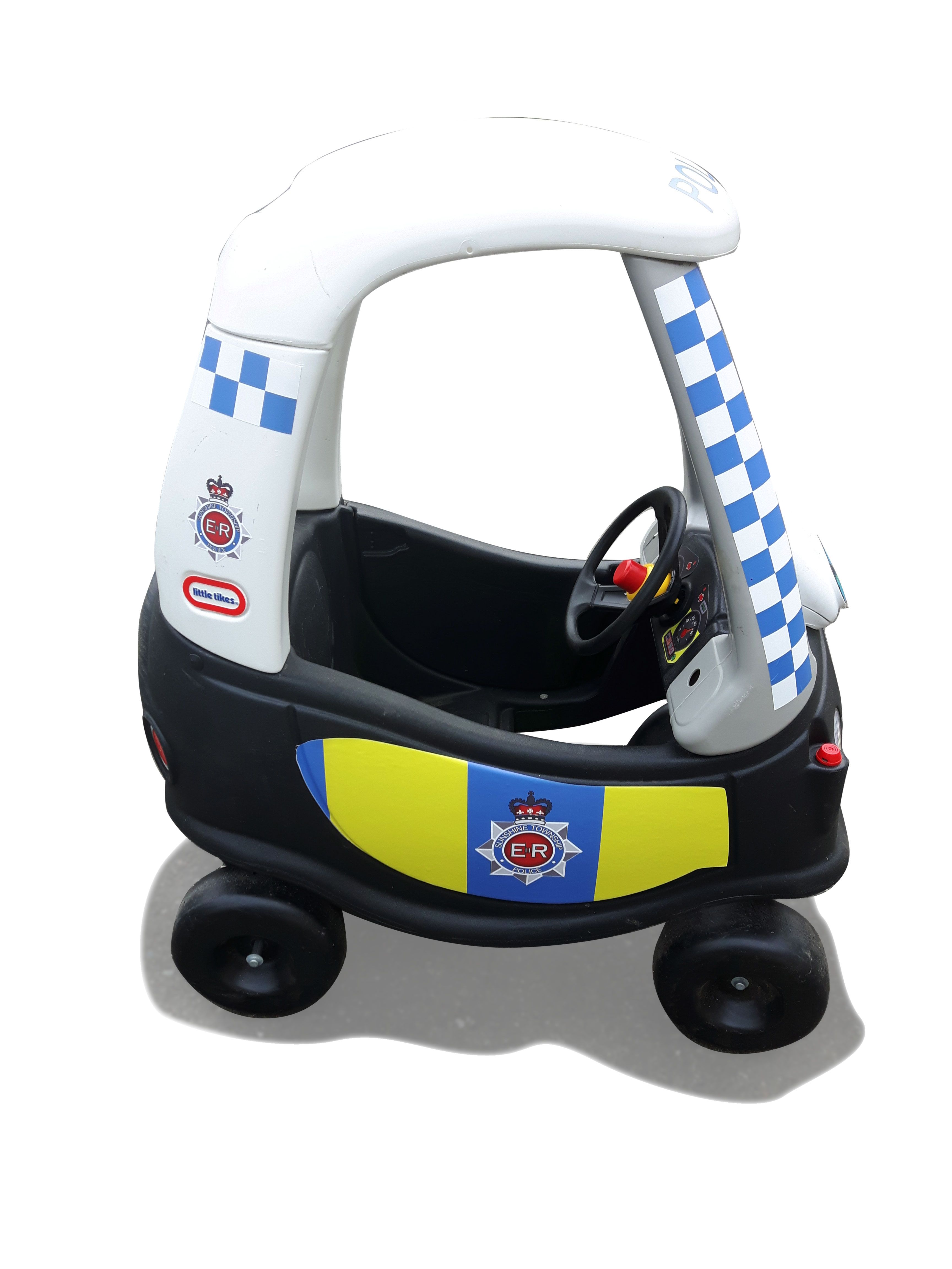 Police Cozycoupe Littletikes Littletykes Kidscar Cozycoupemakeover Upcycle Oldtonew Replacementpart Pimpmycoup Cozy Coupe Little Tikes Baby Car Seats [ 4608 x 3456 Pixel ]