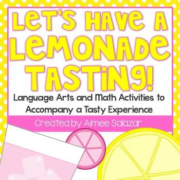 Looking for a way to beat the heat while maintaining student interest in learning? Host a lemonade tasting!  This packet was designed to engage students during those last few days of school.  Your students will sample regular lemonade and pink lemonade and then participate in different learning activities centered around their tasting experience.