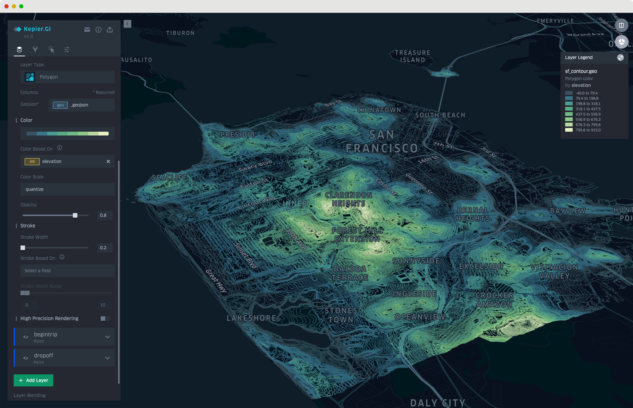Uber's Kepler.gl is a Wonderful Open Source Tool for