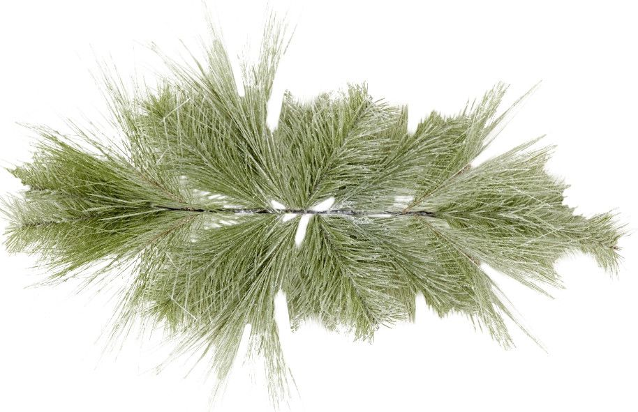 Faux Frosted Pine Swag (Set of 4)
