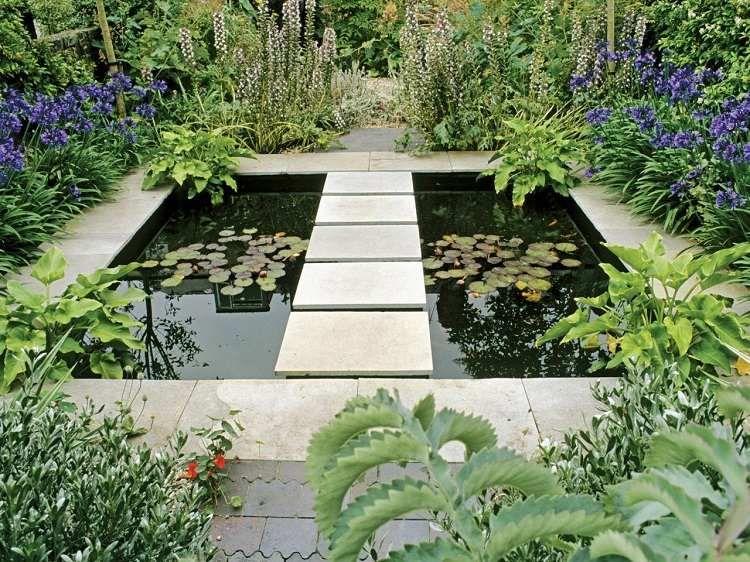 Aménagement paysager moderne: 104 idées de jardin design | Water ...