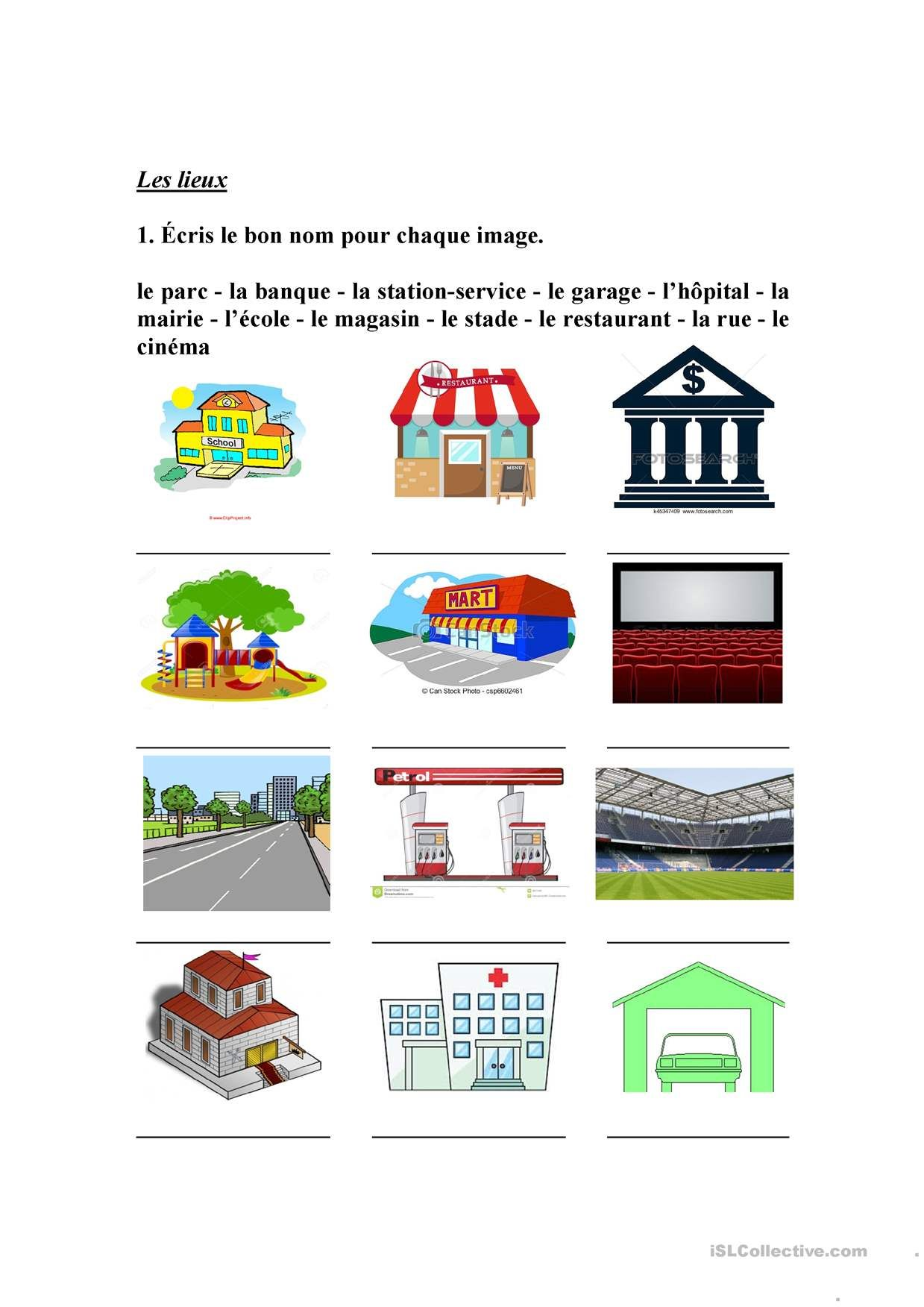 Pin On French Worksheets
