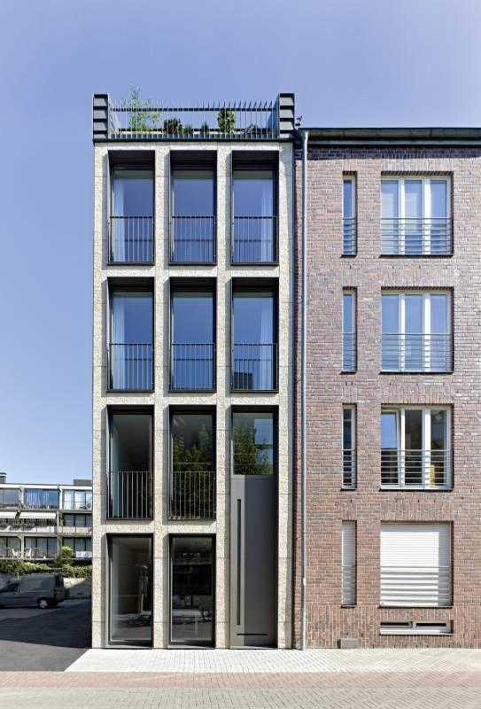 stra enansicht architecture in and out pinterest architektur stadthaus und haus. Black Bedroom Furniture Sets. Home Design Ideas