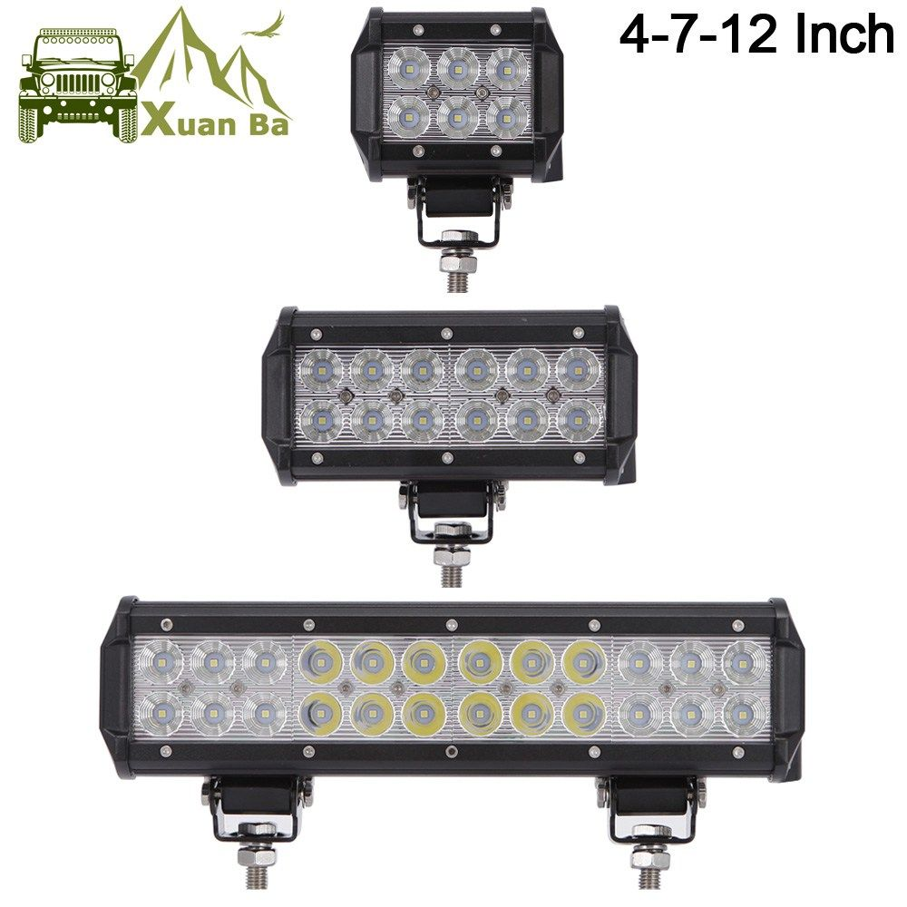 Cheapest prices us 1005 xuanba 12 inch 72w led light bar for atv cheapest prices us 1005 xuanba 12 inch 72w led light bar for atv 4x4 offroad aloadofball Images