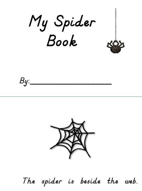 Love For Kindergarten: Spider Rings To Practice Position