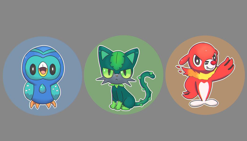 gen 7 type swap | Pokemon fusion art