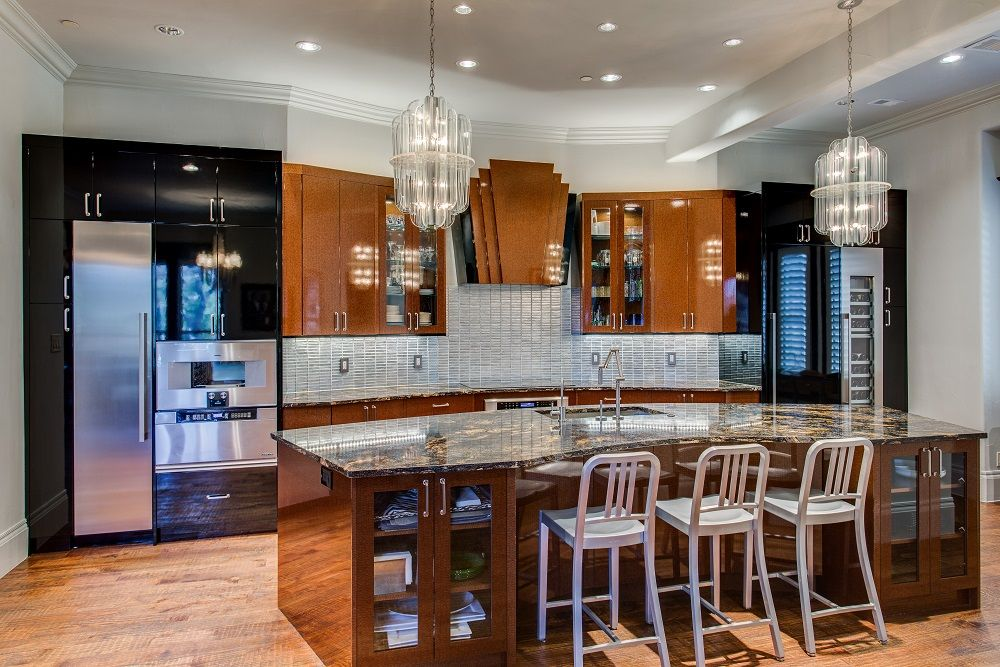 Two Tone Kitchens Kitchen Design Concepts Dallas Tx Modern