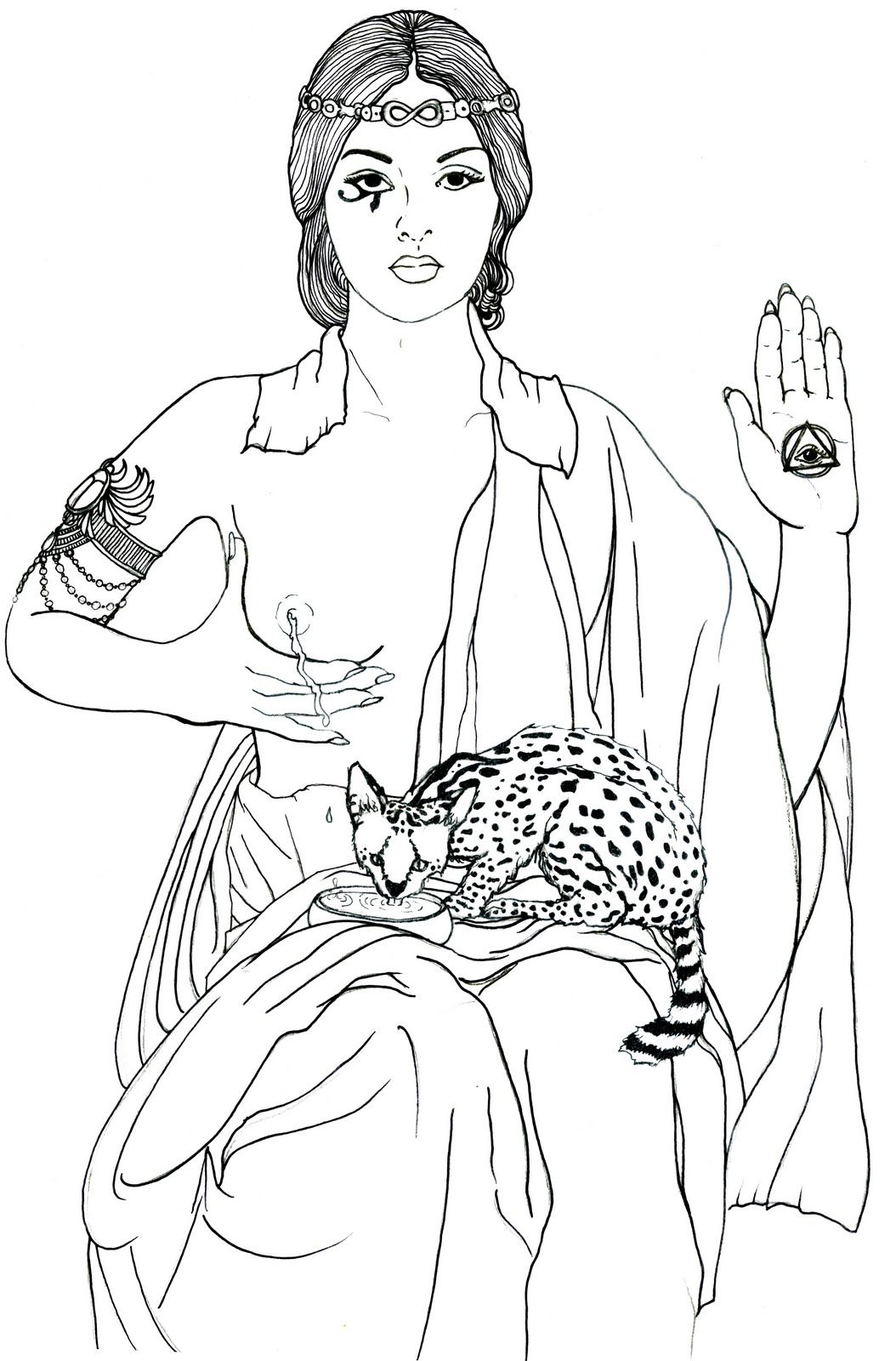 Fine art coloring page | Black and White 黑与白 | Pinterest | Adult ...