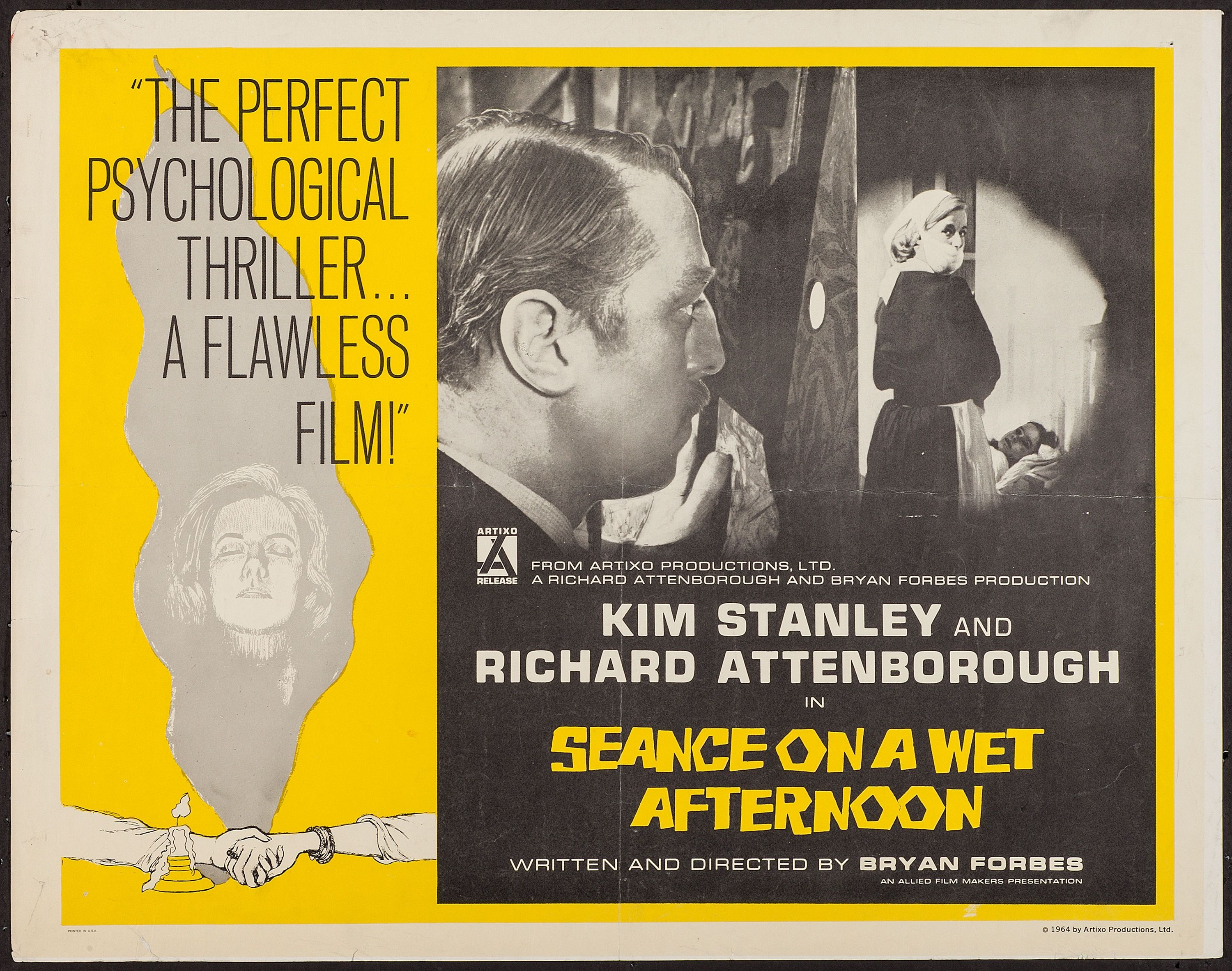 Seance on a Wet Afternoon (1964) Stars: Kim Stanley, Richard ...