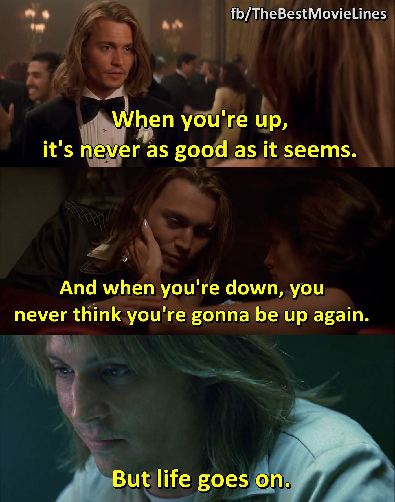 Blow Movie Quotes Blow 2001 Johnny Depp Penelope Cruz | The Best Movie Lines  Blow Movie Quotes