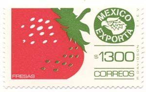 Mexico Exporta Definitives stamps are beautiful, and were printed in an array of designs, papers, tagging, colors, and perforations